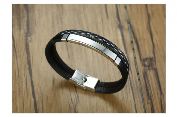 customizable gents bracelet